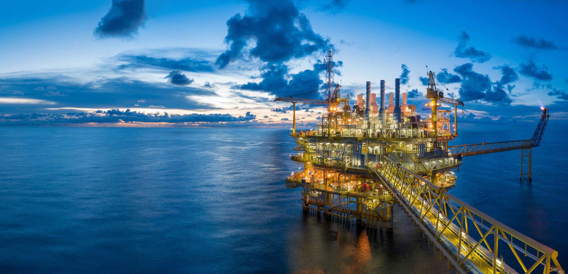 Добив, транспорт и съхраняване на нефт и газ